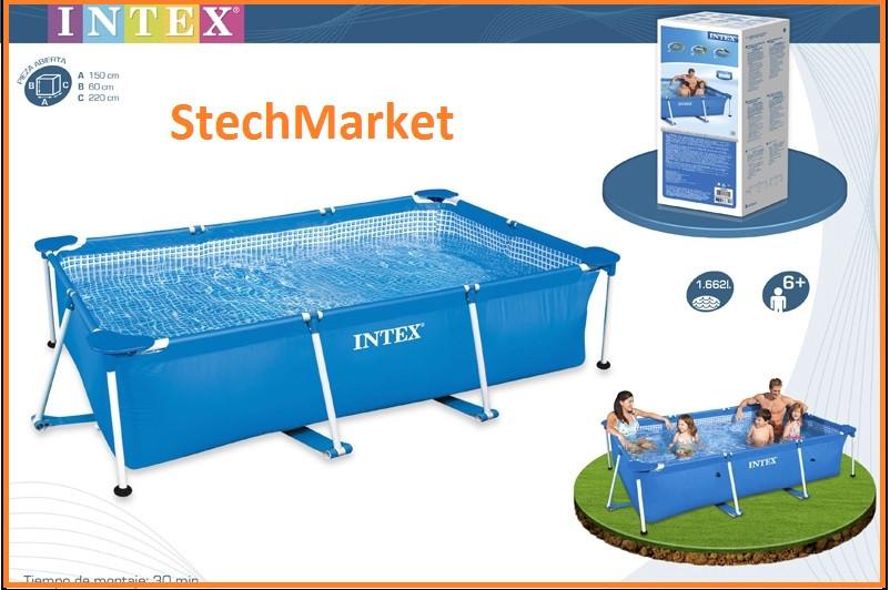 Каркасный бассейн Intex 28271 260-160-65 см