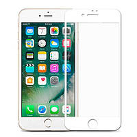 Full Cover защитное стекло для iPhone 7 Plus / iPhone 8 Plus - White