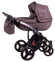 Детская коляска 2 в 1 Jumper R-5 620870 Tako, коричневый лён