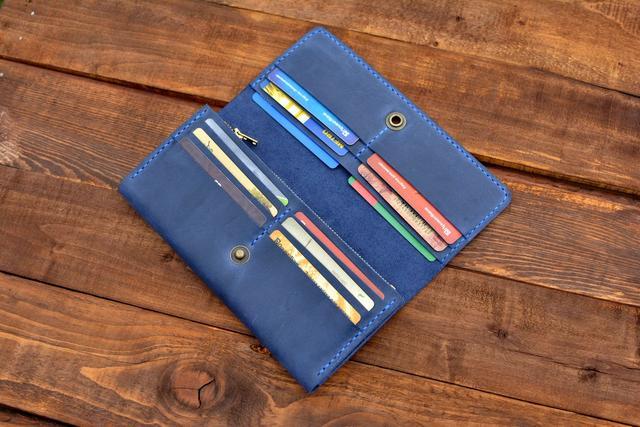 Кожаные кошельки handmade