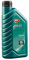 Минеральное моторное масло для 2-х тактных двигателей MOL Arol 2T 1л (4972)
