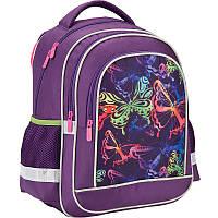 Рюкзак шкільний 509 Neon butterfly