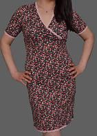 Ночная сорочка из вискозы женская ночнушка красивая трикотажная Украина