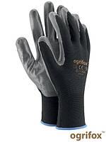 Рабочие перчатки из полиэстера с нитриловым покрытием, 7-10 размеры, Польша