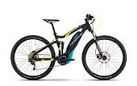 Велосипед Haibike SDURO FullNine 5.0 400Wh, 2017, рама 50см, черный, ход:100мм