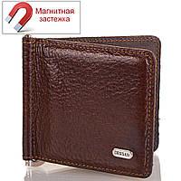 Зажим для купюр Desisan Мужской кожаный  зажим для купюр DESISAN (ДЕСИСАН) SHI208-10