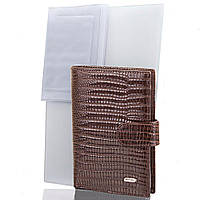 Кошелек с отделением для документов Desisan Мужской кожаный кошелек с органайзером для документов DESISAN (ДЕСИСАН) SHI101-142