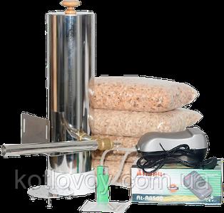 Дымогенератор для холодного и горячего копчения нержавеющая сталь 2 мм.+сбор конденсата Без сбора конденсата, 2.8 л.