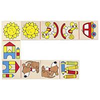 Goki Настольная игра домино Мое первое домино 56696