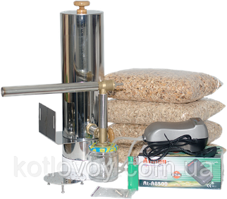 Дымогенератор для холодного и горячего копчения нержавеющая сталь 2 мм.+сбор конденсата Со сбором конденсата, 5.2 л.
