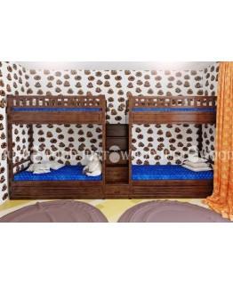 Двухъярусная кровать Квартет Justwood 90x190 Дерево