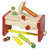 Игровой набор Ящик с инструментами Goki, детские эко-игрушки