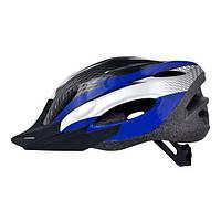 Шлем Longus MAXVENT черный/белый/синий S/M