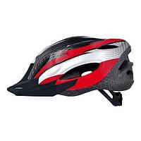 Шлем Longus MAXVENT черный/белый/красный S/M
