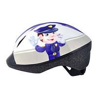 Шлем Longus Funn 2.0 Police Man 48-54см