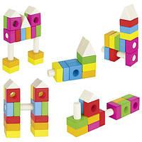 Goki Конструктор деревянный Строительные блоки 58589
