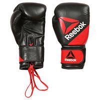 Кожаные перчатки для единоборств Reebok Leather Training Glove12oz BG9378