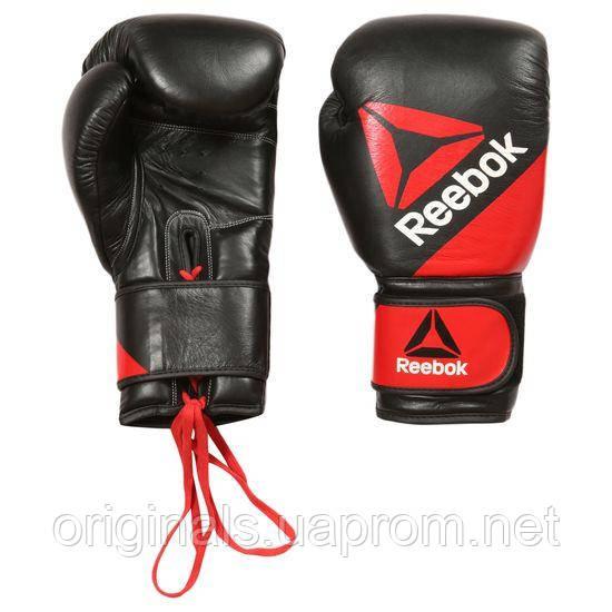 Кожаные перчатки для единоборств Reebok Leather Training Glove12oz BG9378 - 2017 - интернет-магазин Originals - Оригинальный Адидас, Рибок в Киеве