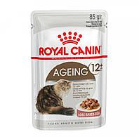 Royal Canin AGEING +12 В СОУСЕ (СТАРШЕ 12 ЛЕТ) 0,085КГ