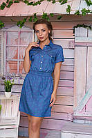 Стильное джинсовое платье Элиза 2 Arizzo 44-48 размеры