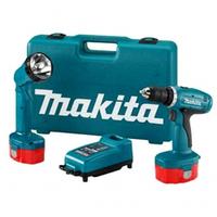 Аккумуляторная дрель - шуруповерт Makita 6270d + Фонарик (Макита)