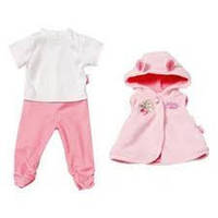 Одежда для куклы BABY BORN Комбинезон и куртка с капюшоном для Анабель  Беби Бон