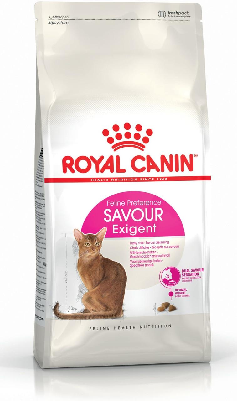 Сухой корм Royal Canin Exigent Savour для взрослых кошек, 4КГ