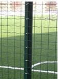 Сварная сетка 50х50 в рулонах с ПВХ 2 м х10 метров, для забора, ограждения, фото 2