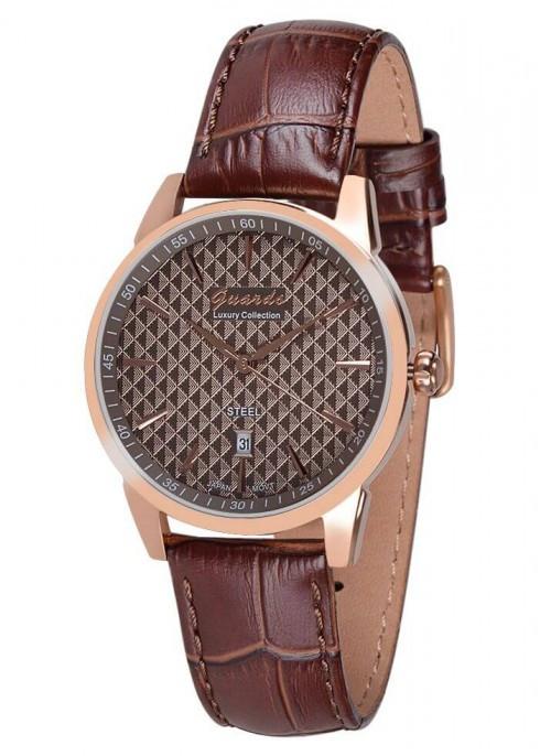 Мужские наручные часы Guardo S01747 RgBrBr