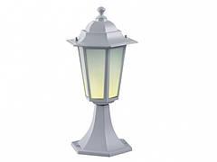 Садово-парковый светильник DeLux PALACE A04 белый