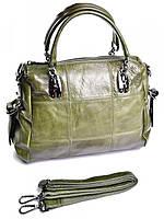 Женская сумка портфель зеленая GW-86222