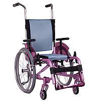 Активная инвалидная коляска для детей OSD ADJ Kids, розовая