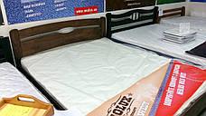 Кровать двуспальная деревянная с подъемным механизмом Каролина Микс мебель, цвет на выбор, фото 3