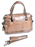 Женская сумка портфель бежевая GW-86222