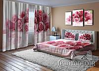 """ФотоКомплект для спальні """"Пелюстки троянд"""""""