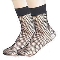 Носки в сетку. Мелкая сетка