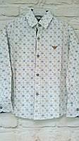 Рубашка белая для мальчиков на рост 140-164