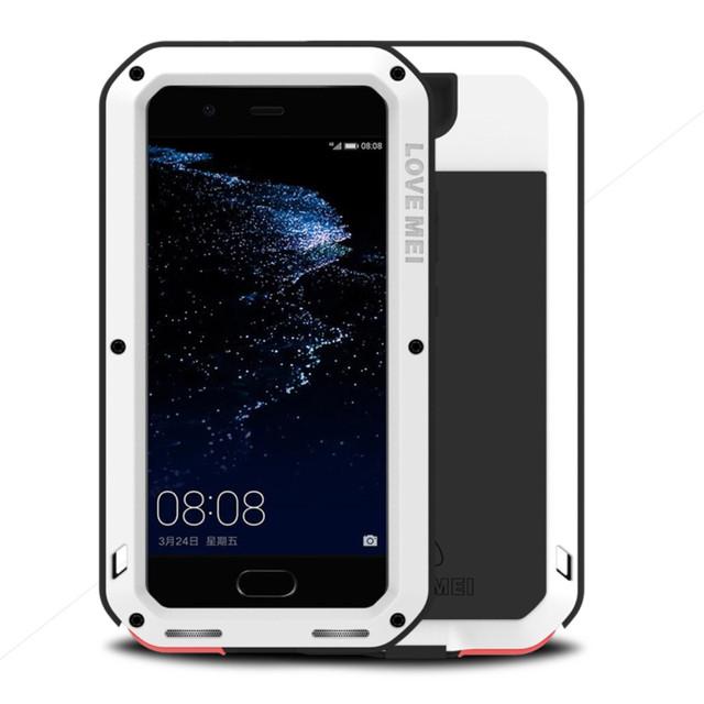 чехол накладка на Huawei P10 plus противоударный белый