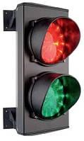 Светофор светодиодный 230В (зеленый+красный),CAME, 124 мм