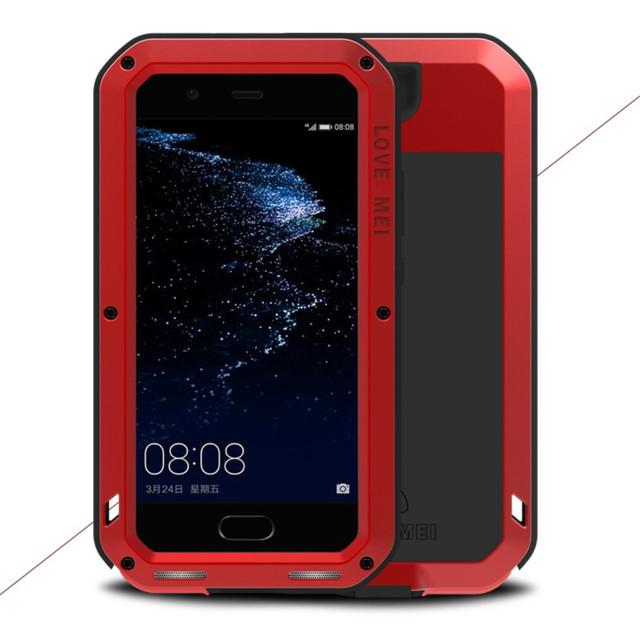 чехол накладка на Huawei P10 plus противоударный красный