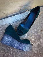 Туфли на танкетке Glam