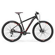"""Велосипед Merida BIG.NINE 500 MATT BLACK (RED\GREY) 19"""" 2017"""