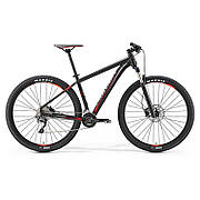 """Велосипед Merida BIG.NINE 500 MATT BLACK (RED\GREY) 21"""" 2017"""