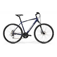 Велосипед Merida CROSSWAY 20-MD DARK BLUE (SILVER\WHITE) 48CM 2017
