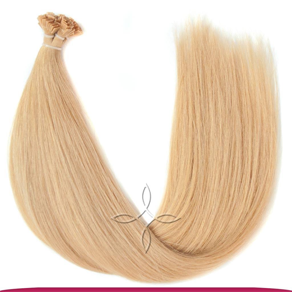 Натуральные Европейские Волосы на Капсулах 50 см 100 грамм, Светло-Русый №16
