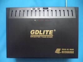 Солнечно-аккумуляторная станция gdlite 8012b, диапазон напряжения 110-240в, защита от перегрузки