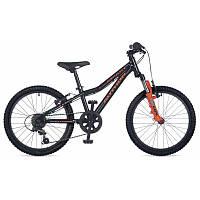 """Велосипед AUTHOR Smart 20, цвет-черый / оранжевый, рама 10"""" 2017"""