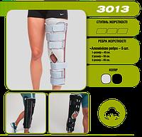 Бандаж Тутор на коленный сустав Алком 3013 Черный размер-3 Бандаж тутор на колінний суглоб Украина