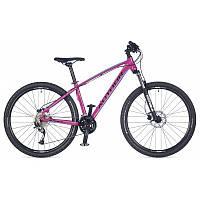 """Велосипед женский AUTHOR Pegas ASL 27,5"""", цвет-розовый (голубой) / черный, рама 16"""" 2017"""