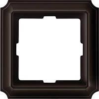 Рамка 1-пост Merten Antique коричневый